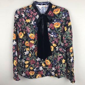 Zara Trafaluc Collection floral top